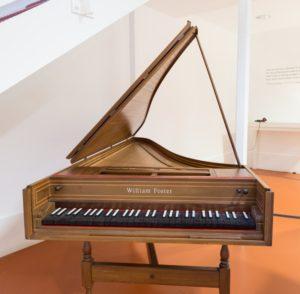 A Modern Harpsichord By William Foster